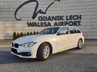 Rent a BMW 316d Automatic STW   Car Rental Gdansk    - zdjęcie nr 1