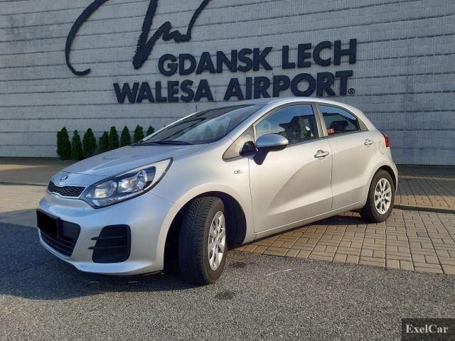 Rent KIA RIO   Car rental Gdansk  