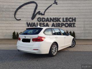 Rent a BMW 316d Automatic STW   Car Rental Gdansk    - zdjęcie nr 3