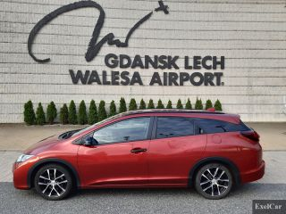 Rent a Honda Civic STW   Car Rental Gdansk    - zdjęcie nr 2